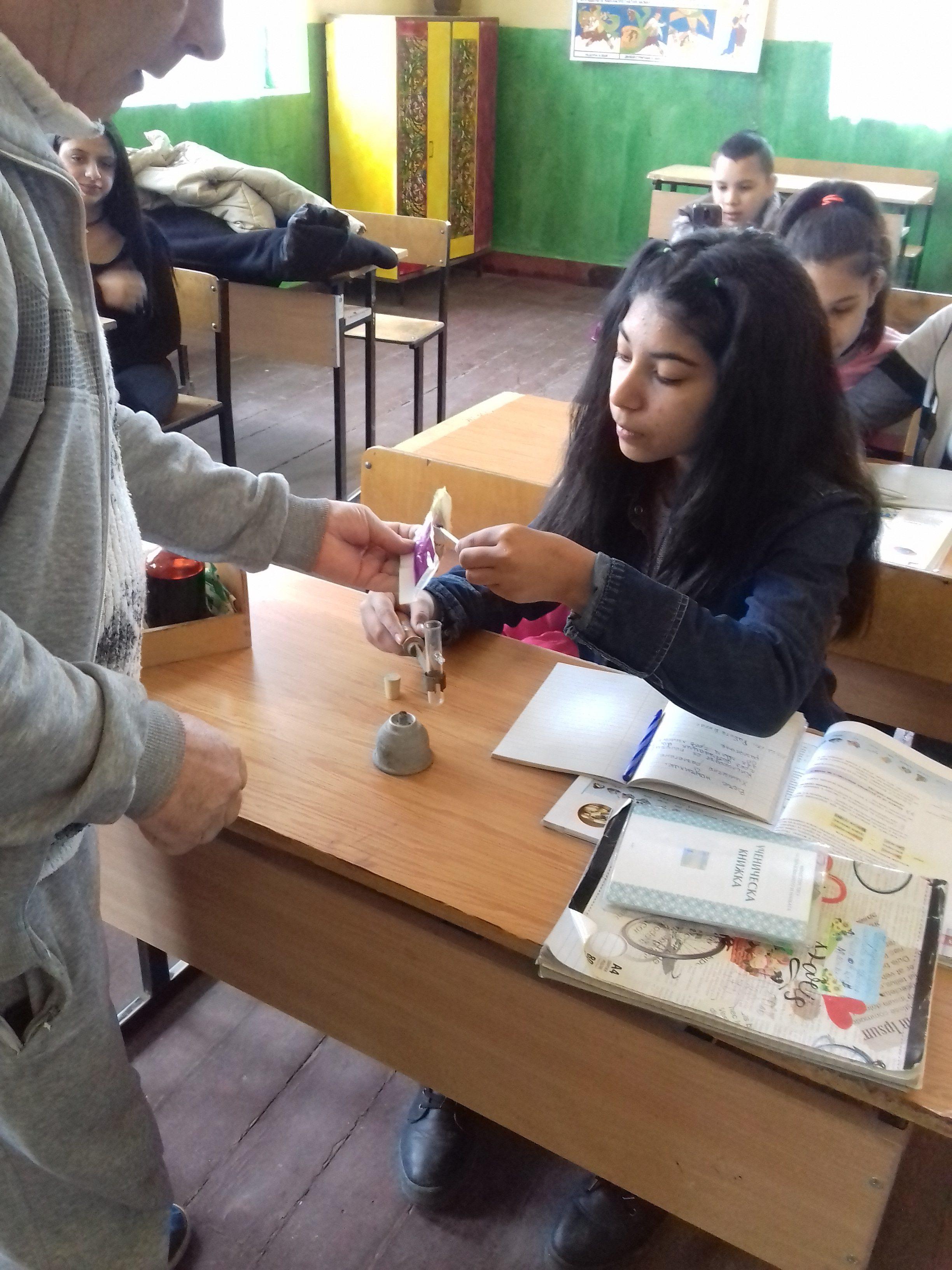 В час по химия с г-н Георгиев